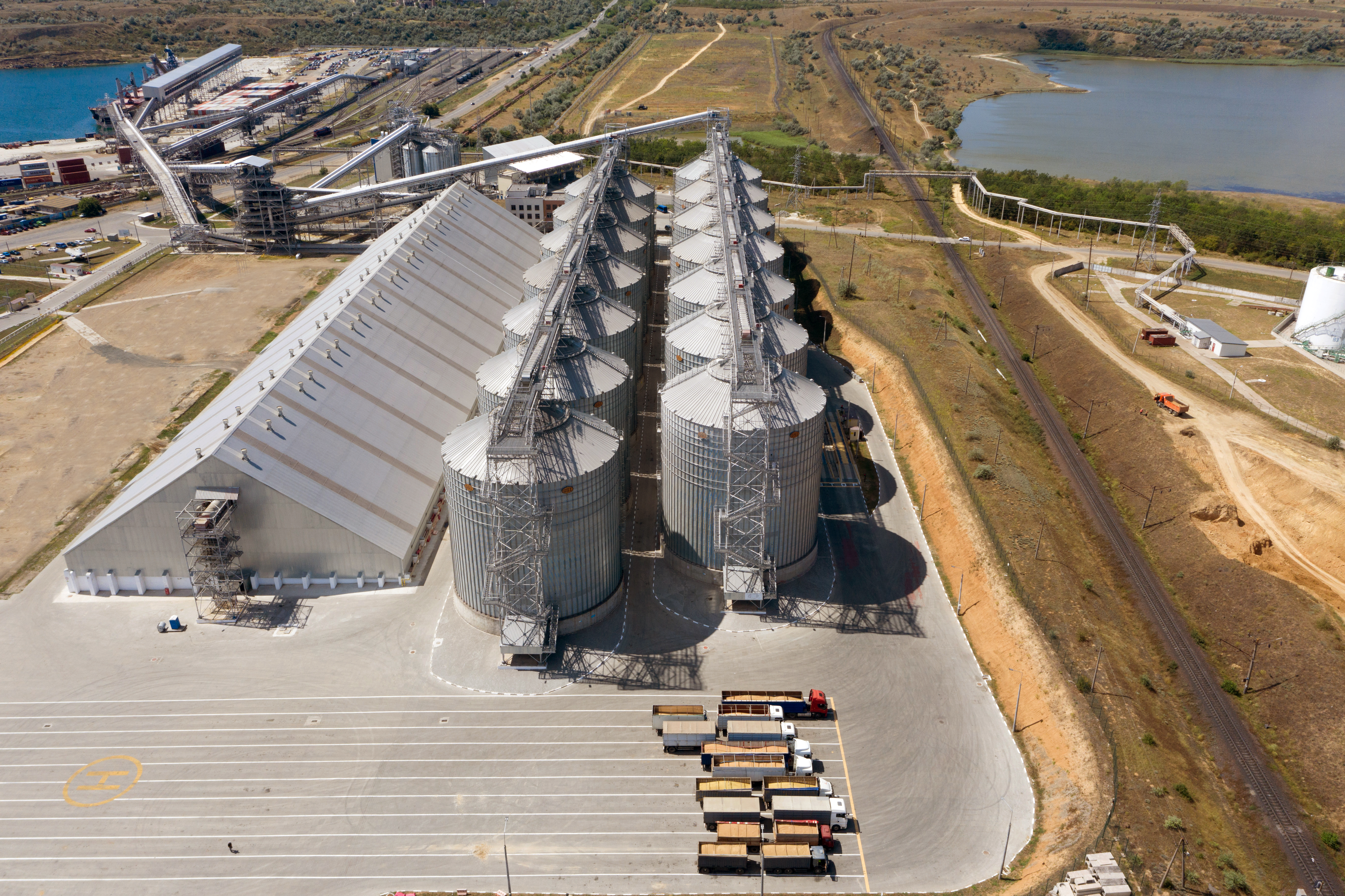 Overview of the Neptune grain terminal, as of August 2020