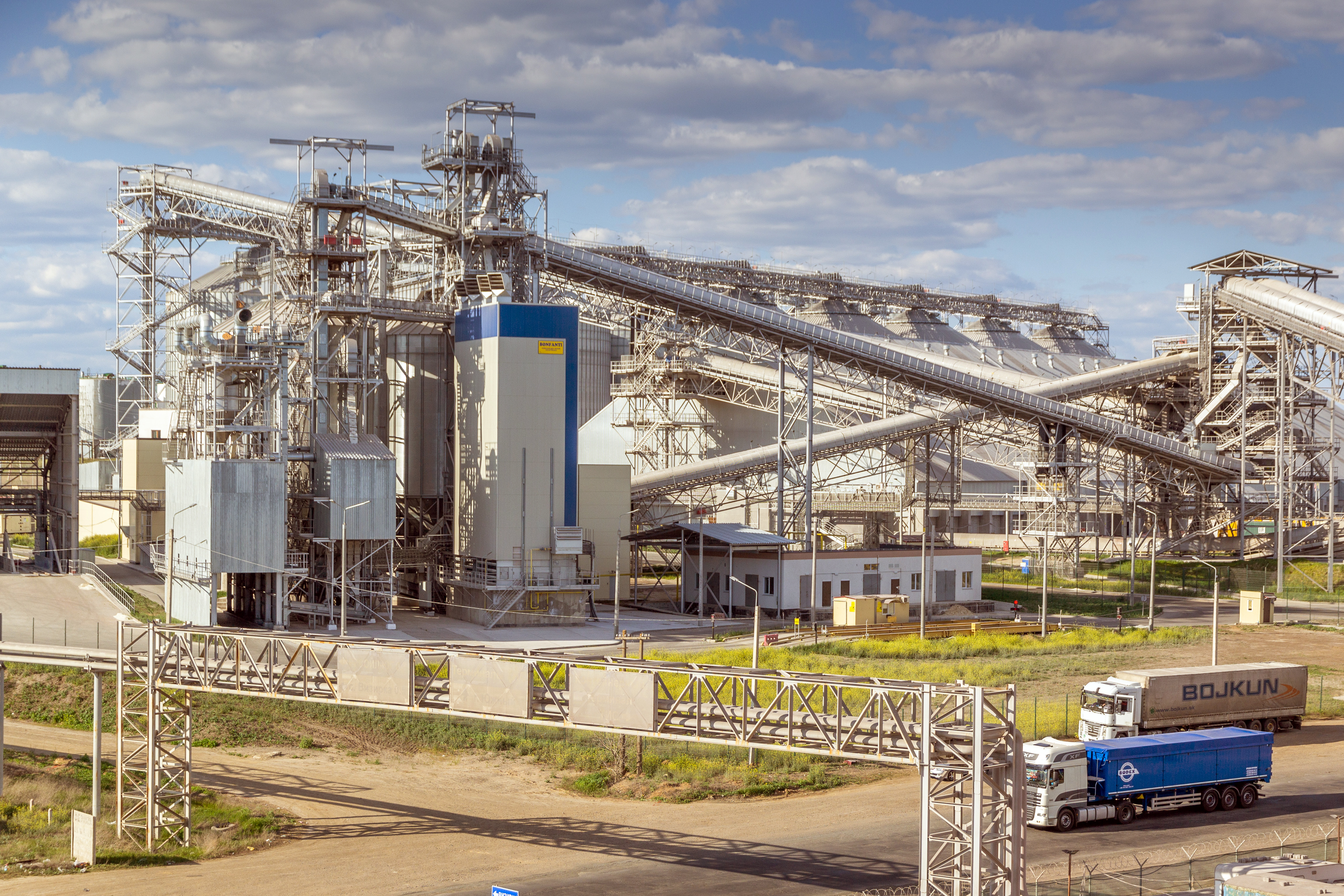 Bonfanti grain dryer, one of the most up-to-date models from the world's best manufacturer