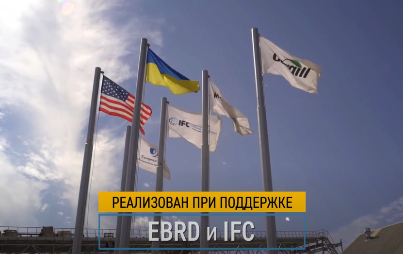 3 years of construction in 3 minutes: how the most modern grain terminal in Ukraine was being built